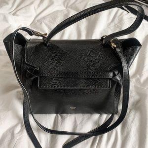 CELINE NANO BELT BAG IN BLACK